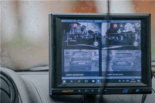 В рейды против нарушений парковки в Чебоксарах вышел «Дозор»