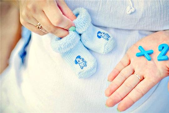 Очередная двойня порадовала своим рождением чебоксарских родителей
