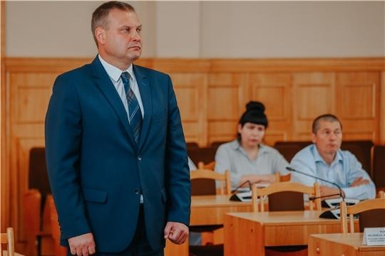Алексей Ладыков представил нового директора Чебоксарского троллейбусного управления
