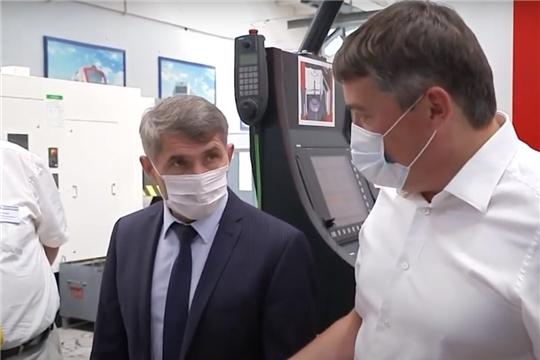 С возможностями предприятия «Элара» познакомился врио Главы Чувашии Олег Николаев.