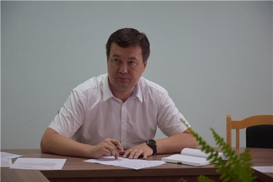 В администрации Московского района г. Чебоксары проведена планерка со структурными подразделениями