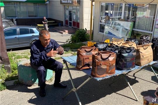 В Чебоксарах выявлена ещё одна точка нелегальной торговли