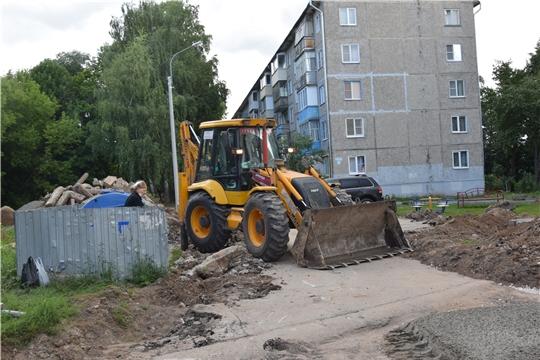 Дворы Московского района Чебоксар преобразятся ко Дню города