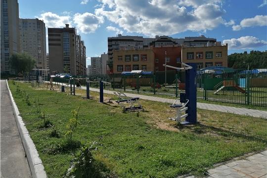 В преддверии Дня физкультурника на открытых городских площадках проходят занятия