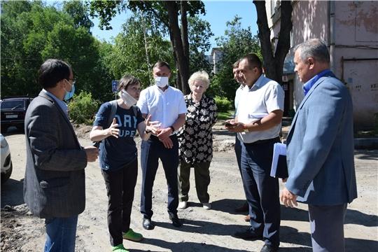 Дворы в Чебоксарах становятся краше благодаря инициативности жителей