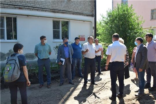 Ремонт дворовых территорий в Московском районе г Чебоксары продолжается...
