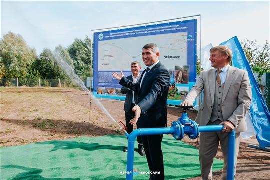 В Чандрово запустили долгожданный водопровод