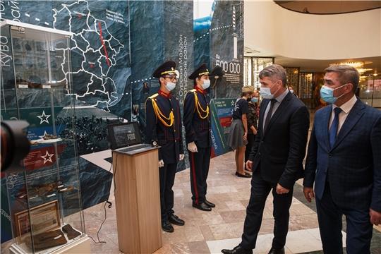 В Чебоксарах состоялось открытие акции памяти «Строителям безмолвных рубежей…»