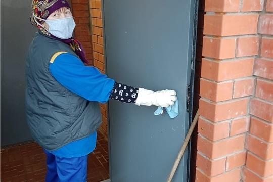 В чебоксарских многоквартирных домах ежедневно проводится санитарная обработка