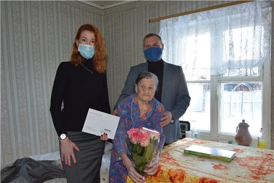 95-летний юбилей отметила ветеран Великой Отечественной войны Зоя Ширманова