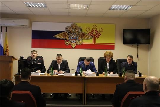г. Новочебоксарск: в ОМВД состоялось совещание по подведению итогов деятельности за 2019 год