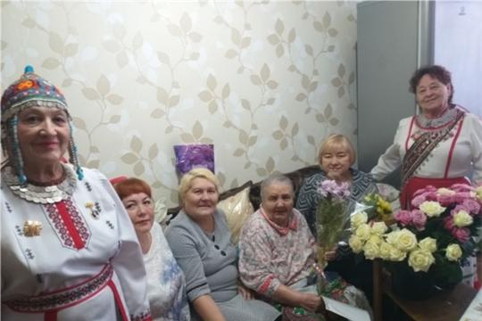 г. Новочебоксарск: ветерану Великой Отечественной войны Никифоровой Нине Васильевне - 90 лет