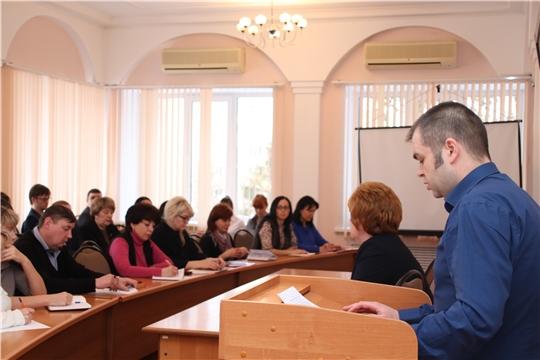 г. Новочебоксарск: состоялась еженедельная планерка под председательством главы администрации Ольги Чепрасовой