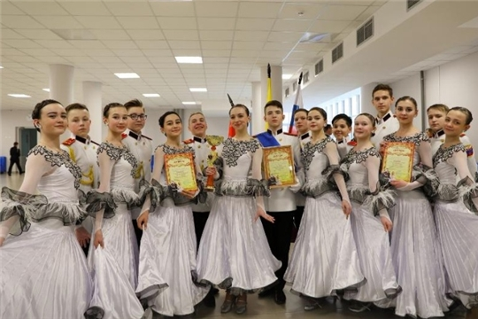 Новочебоксарские кадеты стали победителями в общекомандном зачете «Бала четырех Побед»
