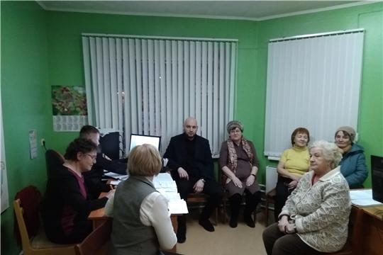 г. Новочебоксарск: в ТОС «Интернационалист» состоялось очередное заседание Совета профилактики