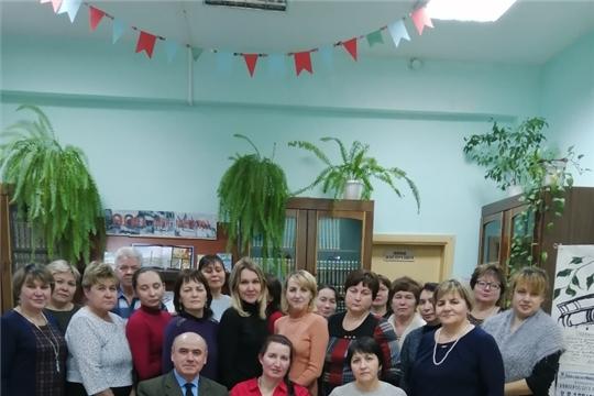 В центральной библиотеке им.Ю.Гагарина состоялось первое заседание литературного клуба «Вучах»