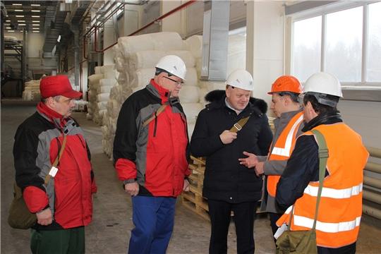 «Химпром» посетил заместитель министра промышленности и торговли Российской Федерации Михаил Иванов