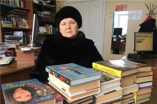 Новочебоксарцы активно участвуют в акции «Дарите книги с любовью»