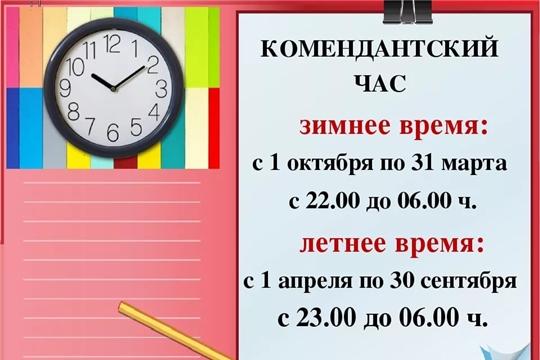 Совместный рейд сотрудников ОМВД России по г.Новочебоксарск и сектора по делам несовершеннолетних администрации г. Новочебоксарска