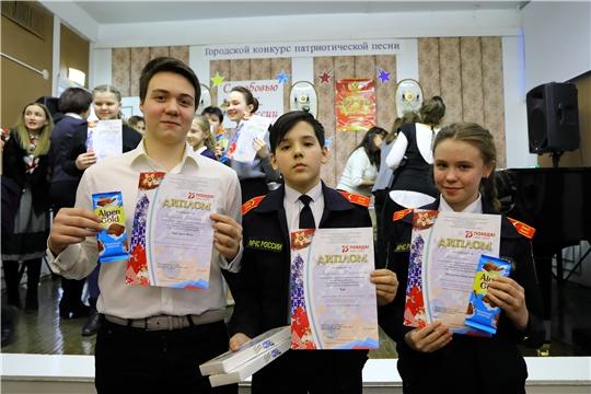 Конкурс патриотической песни «С любовью к России»  в Детской школе искусств