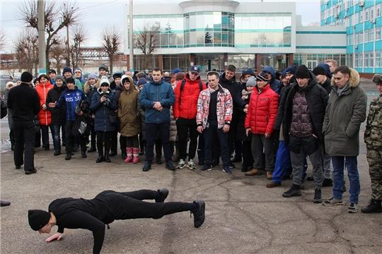 В честь 23 февраля на «Химпроме» прошел «Курс молодого бойца»