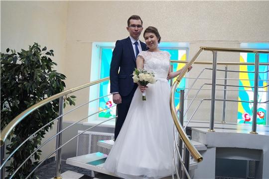 20.02.2020 года - счастливая дата: в отделе ЗАГС г.Новочебоксарска свой брак зарегистрировали девять пар