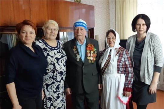 Участнику Великой Отечественной войны Плетневу Николаю Егоровичу вручили юбилейную медаль «75 лет Победы в Великой Отечественной войне 1941–1945 гг.»