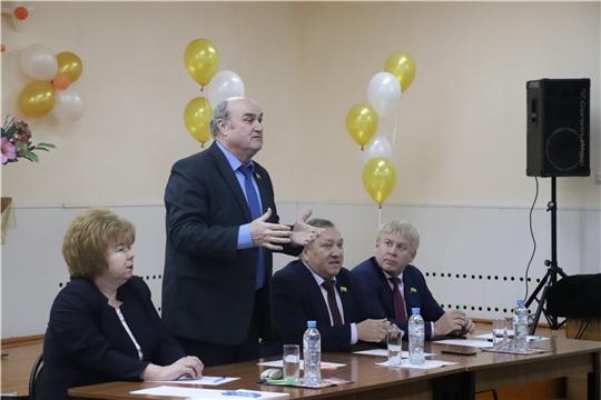 Новочебоксарск с рабочим визитом посетил заместитель  Председателя Госсовета Чувашии Юрий Кислов