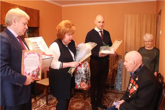 Ветерану Великой Отечественной войны Александру Ивановичу Кулагину – 89 лет