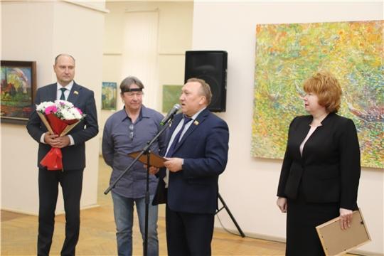 60-летие Новочебоксарска: в Художественном музее состоялось открытие выставки работ члена Союза художников России, живописца Владимира Ларева