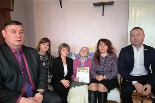 Ветерану Великой Отечественной войны Тамаре Ивановне Дашковой исполнилось 95 лет