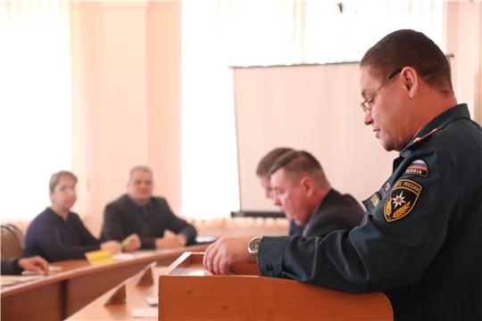 г. Новочебоксарск: состоялось заседание Комиссии по предупреждению и ликвидации чрезвычайных ситуаций