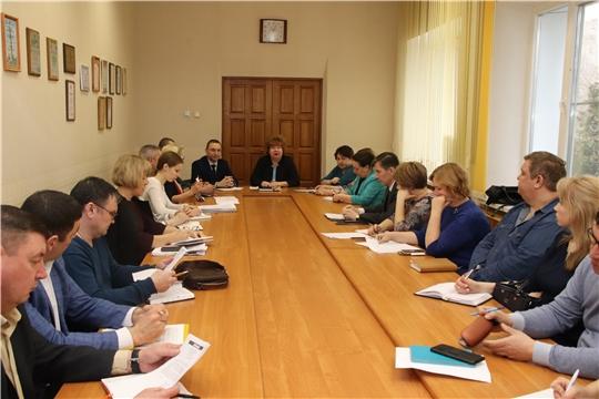 г. Новочебоксарск: состоялось совещание по предупреждению распространения коронавирусной инфекции