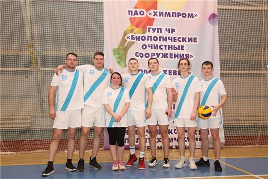 В спортивном фестивале на Кубок «Химпрома»  определился победитель игр по волейболу
