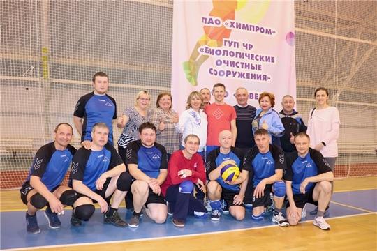 МУП «Коммунальные сети  города Новочебоксарска»: бронзовые призеры по волейболу