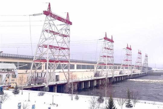 Для пропуска половодья Чебоксарская ГЭС увеличила расходы воды через гидроузел