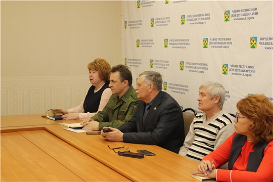 Глава администрации Новочебоксарска Ольга Чепрасова приняла участие в совещании на тему весеннего призыва граждан на военную службу