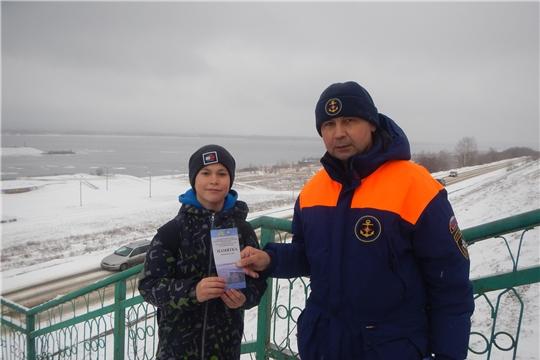 Патрулирование на набережной Новочебоксарска