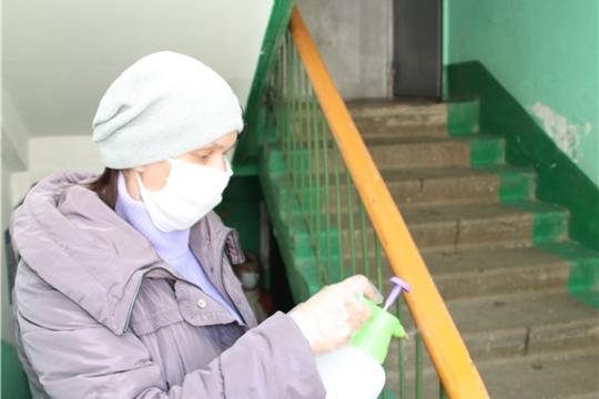 г. Новочебоксарск: санитарно-дезинфекционные работы продолжаются