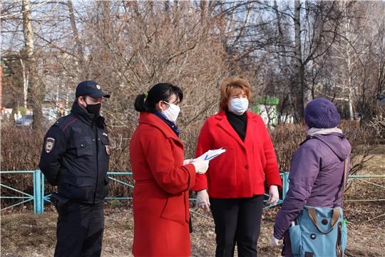 В Новочебоксарске начали работу мобильные группы, которые могут наложить штраф на горожан за нарушение режима самоизоляции
