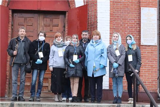 Администрация города Новочебоксарск организовала доставку освященной вербы на дом всем желающим