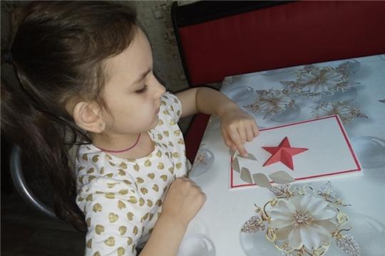 Детский сад №43 «Родничок» участвует в проекте «Открытки Победы»