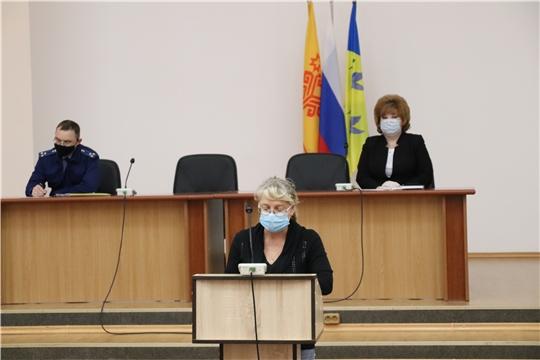 Глава администрации Новочебоксарска Ольга Чепрасова провела очередное заседание городского оперативного штаба по предупреждению распространения новой коронавирусной инфекции