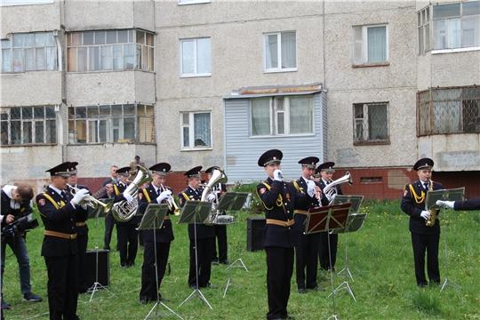 Личный состав Росгвардии поздравил труженицу тыла Пелагею Алексеевну Солдаткину