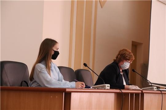 Глава администрации Новочебоксарска Ольга Чепрасова провела заседание оперативного штаба