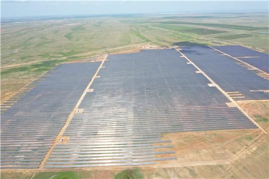 Группа компаний «Хевел» ввела в эксплуатацию одну из крупнейших солнечных электростанций в Казахстане