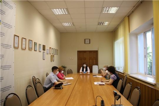 Глава администрации города Новочебоксарск Ольга Чепрасова провела совещание по подготовке к общероссийскому голосованию по вопросу одобрения изменений в Конституцию Российской Федерации.