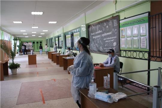 В г. Новочебоксарк продолжается наблюдение за ходом проведения  общероссийского голосования по вопросу одобрения изменений в Конституцию Российской Федерации.