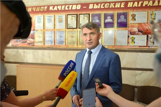 Олег Николаев обсудил с сельхозтоваропроизводителями продвижение продукции местного производства