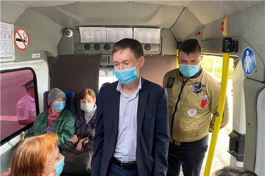 В городе проверили общественный транспорт на соблюдение санитарно-эпидемиологических мер